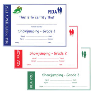 Showjumping Cert All
